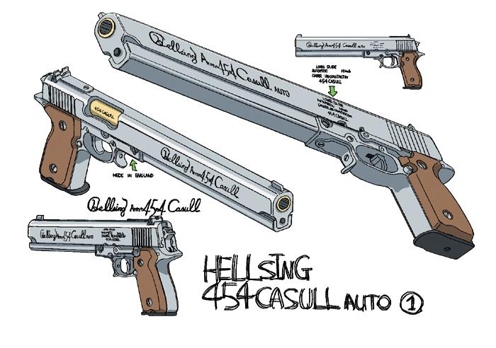 Firearms in Anime